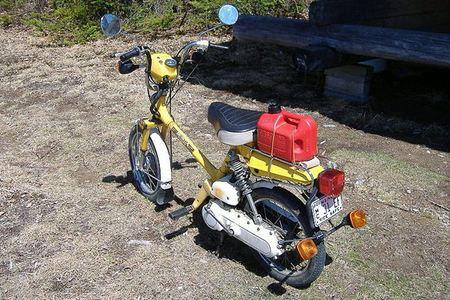 Honda NC 50 de 1980