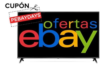 ¿Buscas smart TV? No dejes escapar estos precios para modelos de Samsung y LG con el cupón PEBAYDAYS de eBay