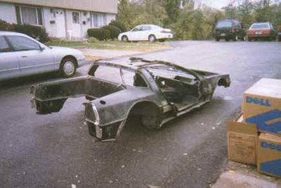 Project Vixen, o como hacer un DeLorean DMC-12 desde cero