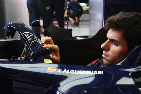 Jaime Alguersuari, nuevo piloto probador de Pirelli