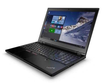 Lenovo ThinkPad P50 y P70, portátiles que se atreven con procesadores Intel Xeon