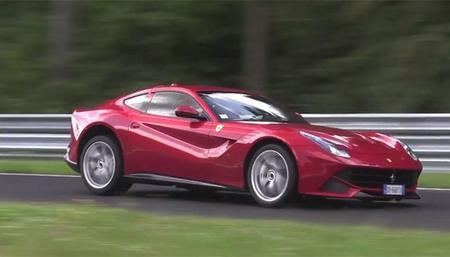 Ferrari F12 aparece en el Nürburgring