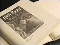 Los libros de Harry Potter en braille