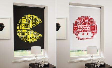 Cortinas 8-bit para tu casa del futuro