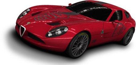 Imágenes oficiales del Alfa Romeo TZ3 Corsa