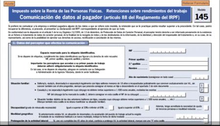 Ya está disponible la herramienta para el cálculo de las retenciones del IRPF