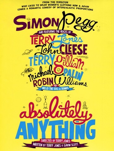 'Absolutely Anything' con Simon Pegg, Robin Williams y los Monty Python, tráiler