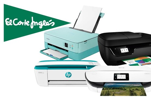 ¿Necesitas imprimir documentos o apuntes? El Corte Inglés tiene selección de impresoras rebajadas y con Click&Car para una recogida sin riesgos
