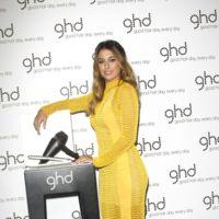 El look de Blanca Suárez en la presentación de lo Arctic Gold de ghd