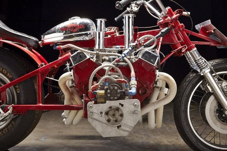 Ej Potter Widowmaker 7 Motorcycle With A Chevy V8 04