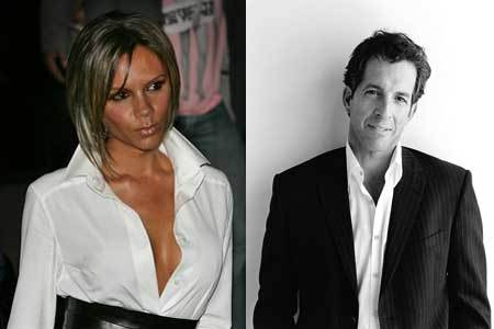 "Kenneth Cole y Victoria Beckham en ""Ugly Betty"""