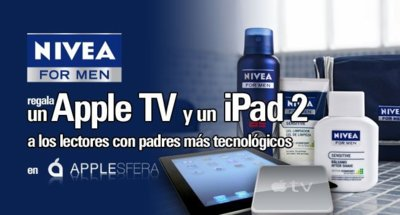 Ganadores del concurso del club NIVEA FOR MEN en Applesfera