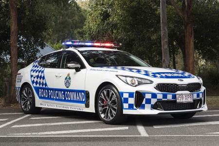 El KIA Stinger se viste de patrulla para resguardar a los australianos