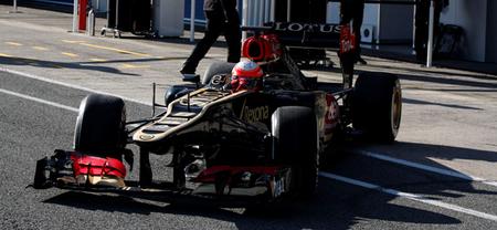 Romain Grosjean marca el mejor tiempo en el segundo día de pruebas en Jerez