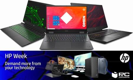 Estos 10 portátiles gaming tienen hasta un 21% de descuento en la HP Week en PcComponentes