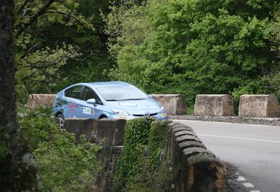 El Toyota Prius vuelve a brillar en el Eco Rally Vasco Navarro
