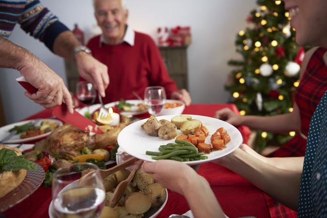 Empachos en Navidad