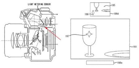 Canon trabaja en un visor réflex con pantalla LCD y estabilizador integrado en el cuerpo