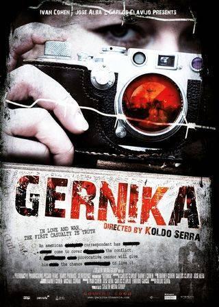 Imagen con el cartel de 'Gernika'