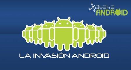 Ice Cream Sandwich se deja ver, La Invasión Android
