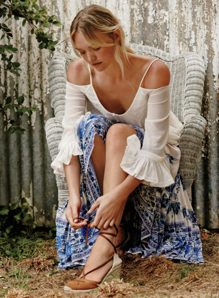 Free People Gemma Ward Catalogo Marzo 2016 1