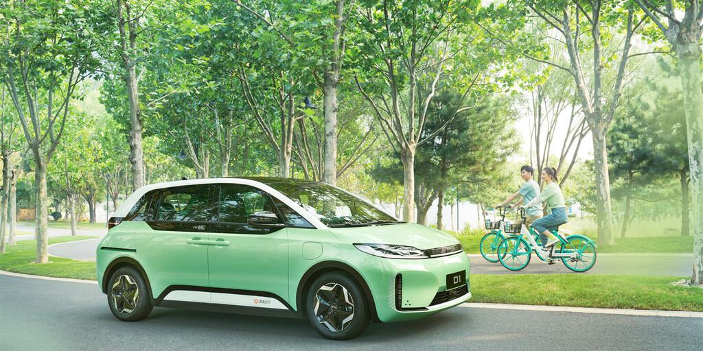 Didi Chuxing, el Uber chino, presenta su coche eléctrico en colaboración con BYD y diseñado específicamente con cometidos de taxi