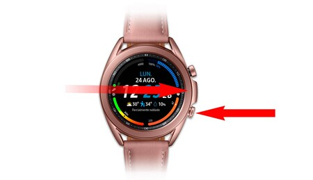 Capturas Pantalla Samsung Galaxy Watch