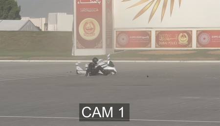 Accidente Hoverbike Scorpion3 Video Dubai 2020