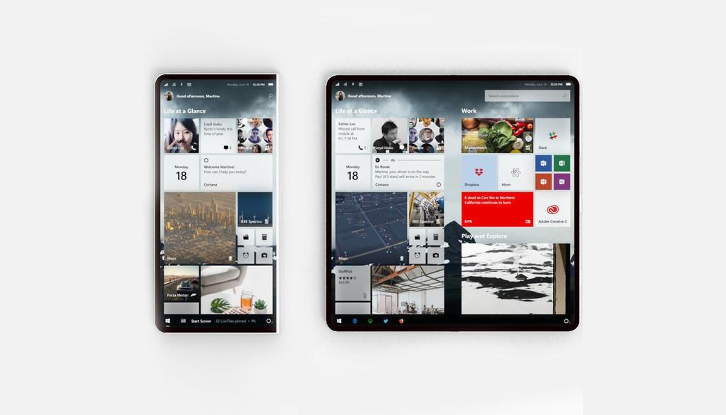 Surgen más detalles sobre Windows Core OS, el sistema operativo de Microsoft para un futuro plegable y dual