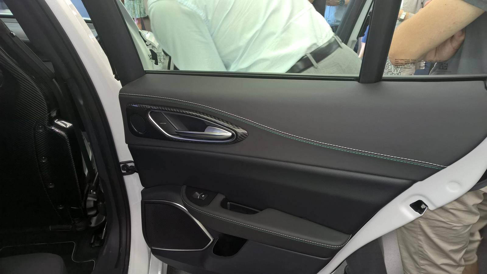 Foto de Alfa Romeo Giulia, interior (7/9)