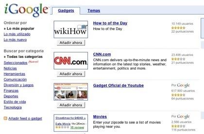 iGoogle como la segunda red social de Google