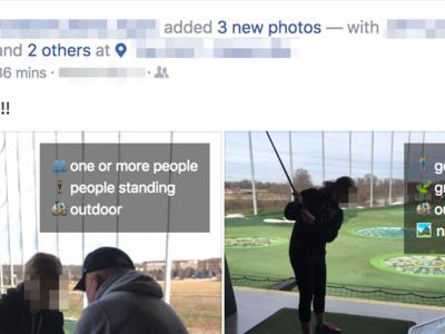 Esta extensión para Chrome y Firefox muestra todo lo que Facebook es capaz de identificar en tus fotos