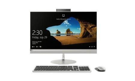 Lenovo IdeaCentre AIO 520-27IKL: un todo en uno de gama media que PcComponentes nos deja por 799,99 euros