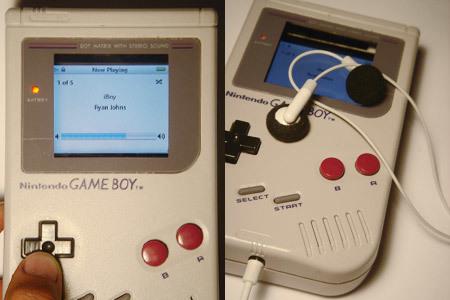 Game Boy + iPod, ¿Una mezcla explosiva?