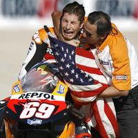 Nicky Hayden y la bandera del Campeón de MotoGP: esta es la bonita historia que hay detrás