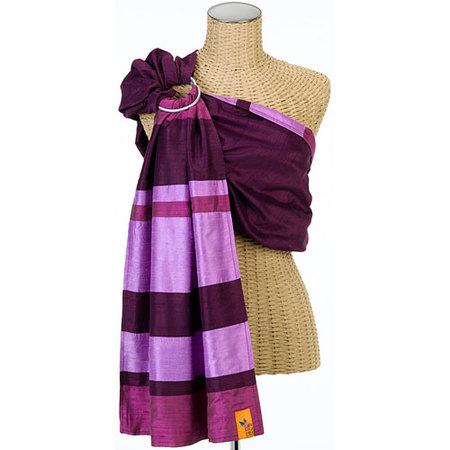 Sling de seda artesanal, un lujo de portabebé