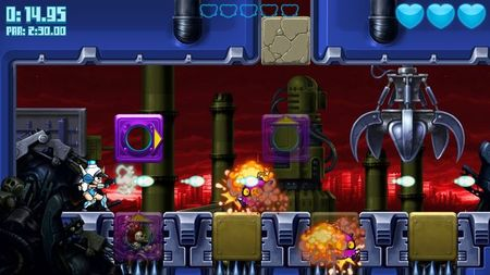 Mighty Switch Force! Hyper Drive Edition (Wii U)