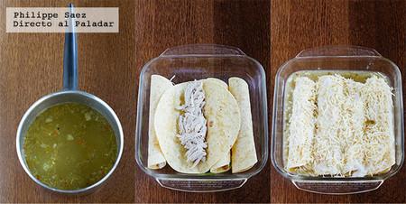 Enchiladas Gratinadas Salsa