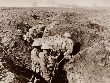 Otra Trinchera De La Infanteria Austrlaiana