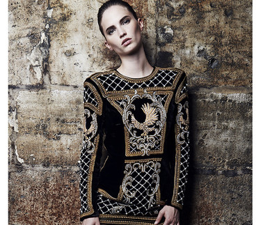 H&M desvela el primer look de su colaboración con Balmain diseñado por Olivier Rousteing