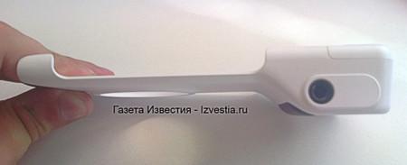 Un vistazo a la carcasa con batería y empuñadura para el Nokia Lumia 1020
