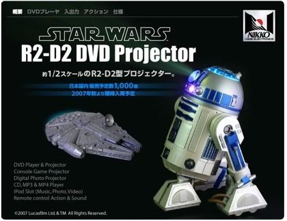 Proyector de R2-D2