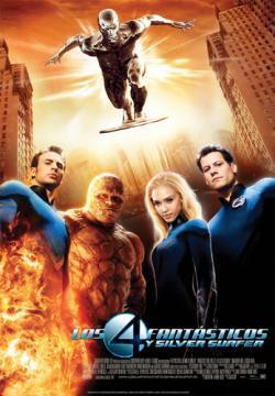 Del poster de 'Los 4 fantásticos y silver surfer', a convertirte en la antorcha humana