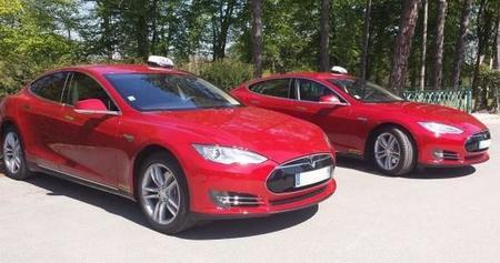 La región de Oise, en Francia, ya dispone de dos taxis eléctricos Tesla Model S