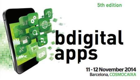BDigital Apps, novedades y tendencias móviles el 11 y 12 de noviembre en Barcelona