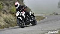 Honda CB500F, prueba (conducción en autopista y pasajero)