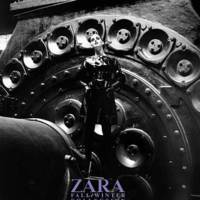 Hilary Rhoda para Zara