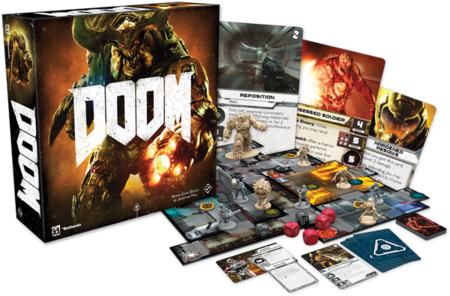 Del inframundo a los tableros: DOOM presenta su propio juego de mesa