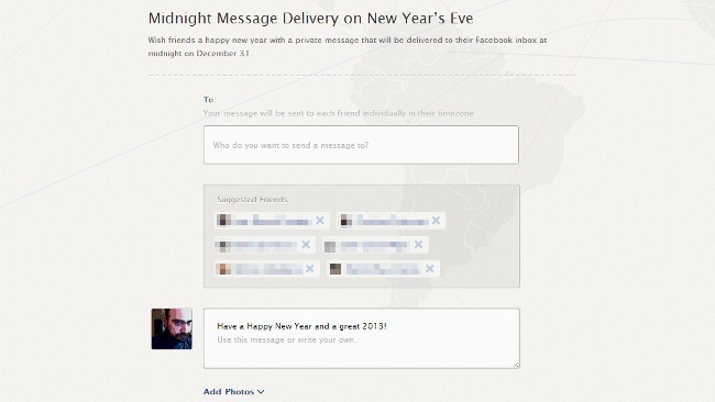 Facebook Midnight Delivery