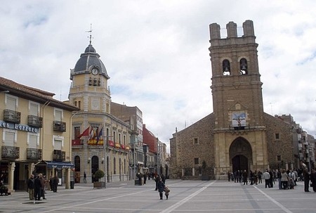 Plaza mayor de La Bañeza